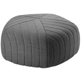 MUUTO Five pouf large - light grey