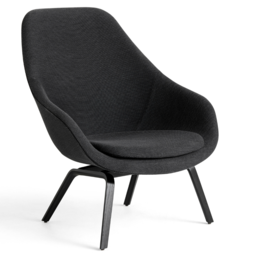 HAY Aal 93 Lounge Chair High Back Dot 1682