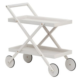 DESIGN HOUSE STOCKHOLM EXIT TROLLEY  STAINED WHITE