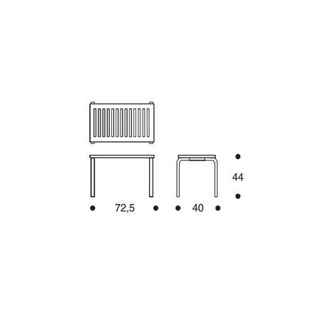 ARTEK Bench 153B White
