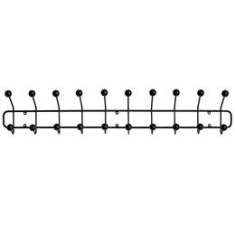 MAZE INTERIOR INT Bill Coat Rack Horizontal - Black
