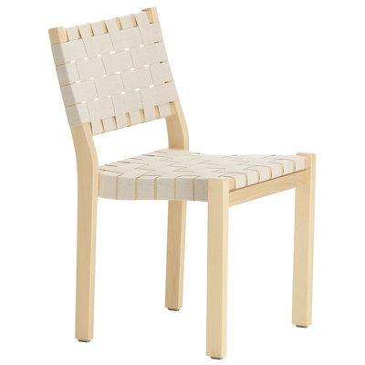 ARTEK Chair 611 Berken -Wit Webbing