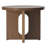 MENU ANDROGYNE  SIDE TABLE DARK OAK