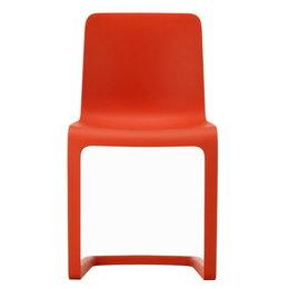 VITRA Evo-c stoel rood