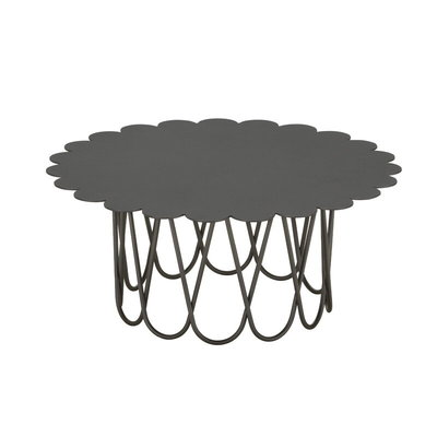 VITRA Flower  Coffee Table Anthracite Small