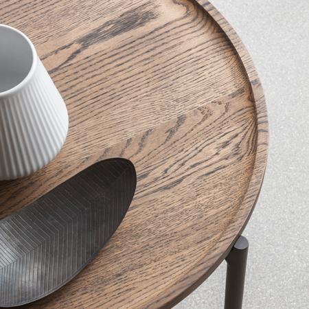 EVA  SOLO Savoye Coffee Table 100 X 100 cm.
