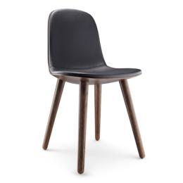 EVA  SOLO Abalone Chair Oak Smoked - Leather Black
