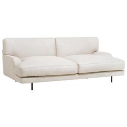 GUBI Flaneur 2,5 seater sofa - dedar chambry off-white