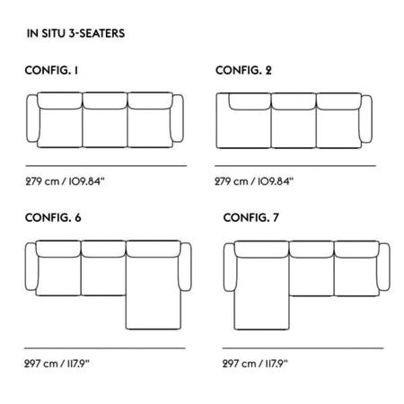 MUUTO In-Situ 2 Seater Combi 6
