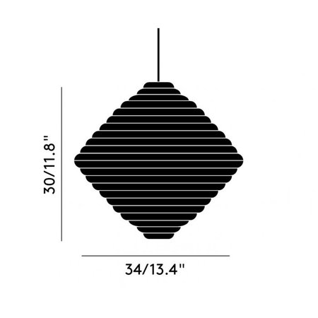 TOM DIXON Press Cone Pendant