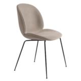 GUBI Beetle chair upholstered Gubi velvet  - base black