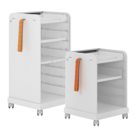 VITRA Follow Me 2 Mobile element caddy
