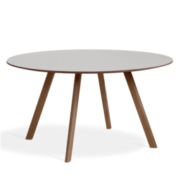 HAY CPH 25 table Ø140 - base walnut