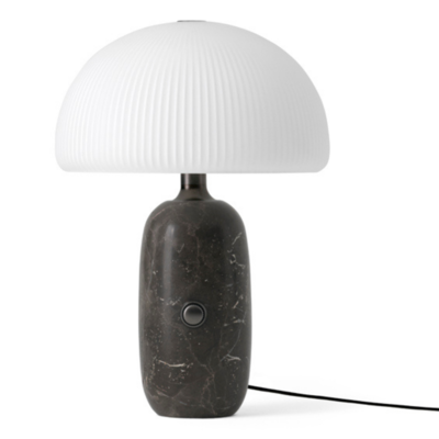 VIPP 592 Sculpture table lamp - grey marble