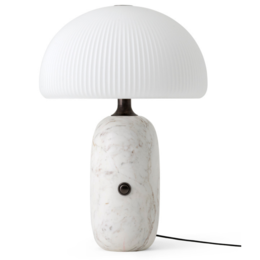 VIPP 592 Sculpture table lamp - white marble