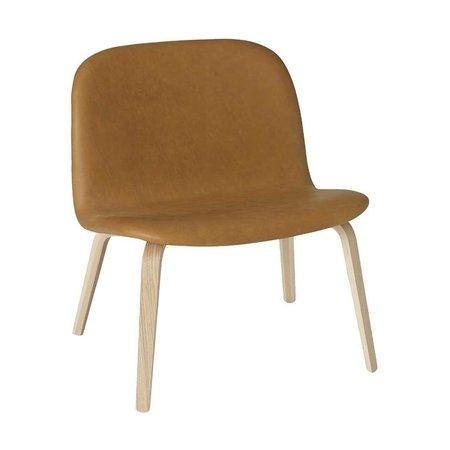 MUUTO Visu lounge chair cognac refine leather