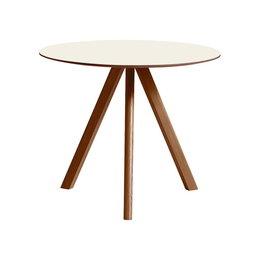 HAY Cph 20 walnut table Ø90