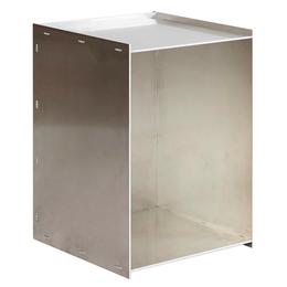 FRAMA Rivet Box tafel aluminium