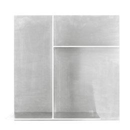 FRAMA Rivet Typecase Shelf opbergkast aluminium