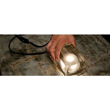 DESIGN HOUSE STOCKHOLM BLOCK LAMP CLEAR MINI LED