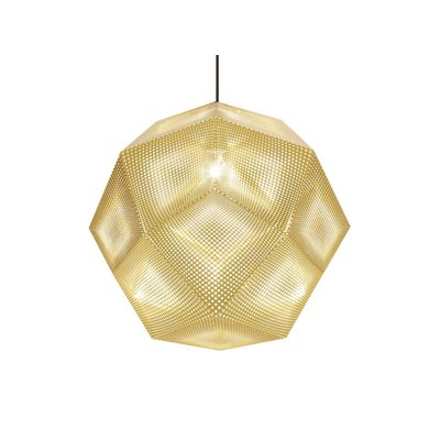 TOM DIXON ETCH HANGLAMP LARGE MESSING