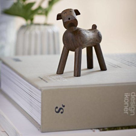 KAY BOJESEN DESIGN KAY BOJESEN DOG TIM SMOKED OAK