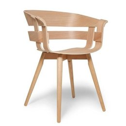 DESIGN HOUSE STOCKHOLM WICK CHAIR - WOODEN LEGS