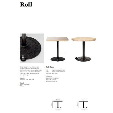 TOM DIXON ROLL BASE TABLE