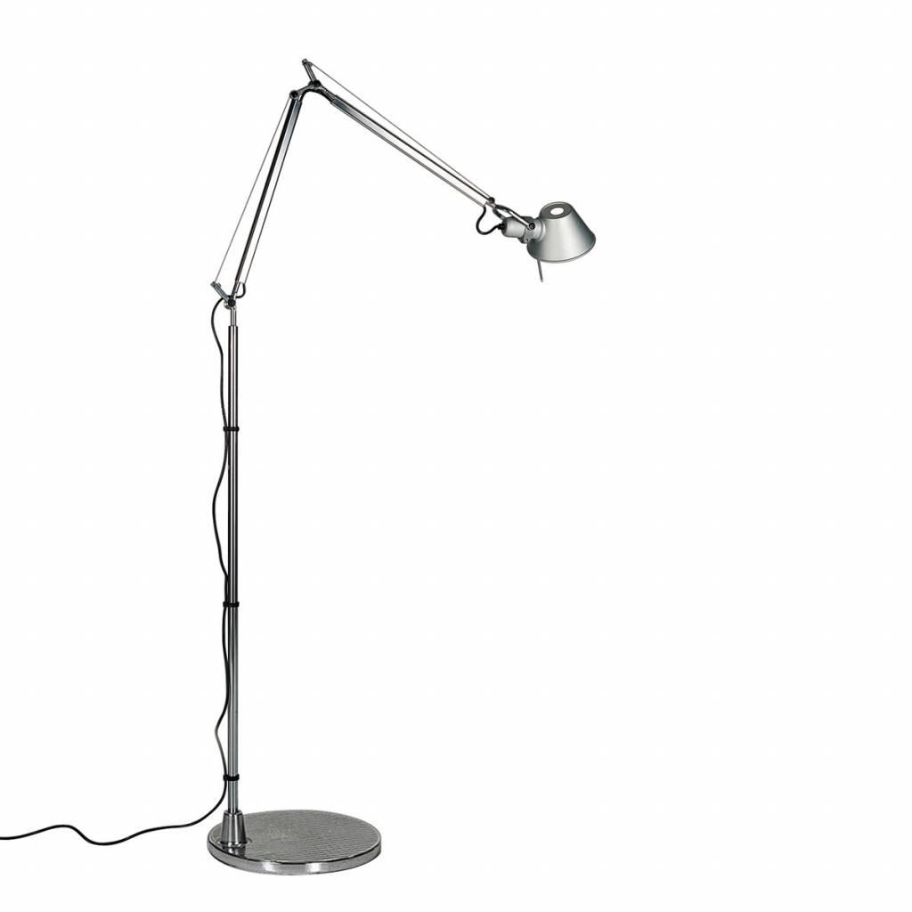 Artemide Tolomeo Vloerlamp.Artemide Tolomeo Micro Led Vloerlamp