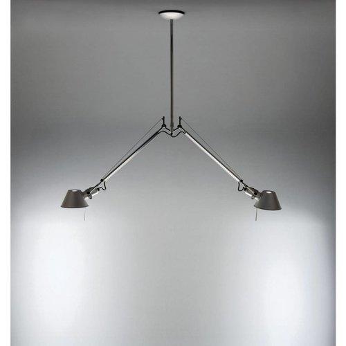 Artemide Tolomeo Due Bracci hanglamp