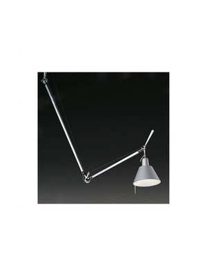 Artemide Tolomeo Decentrata hanglamp aluminium kap