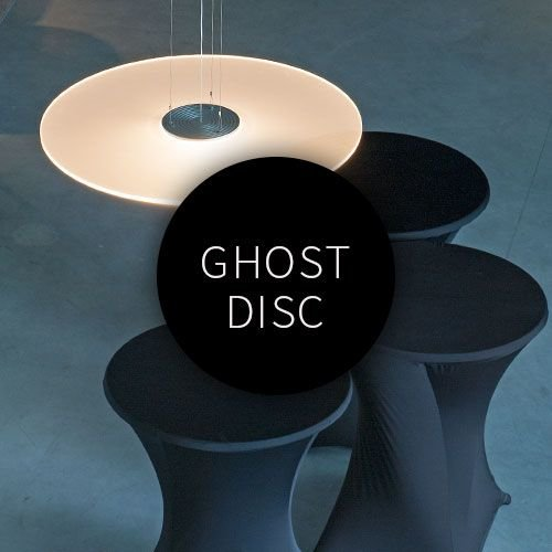Ferrolight Ghost Disc hanglamp