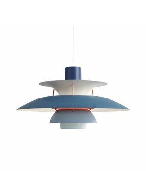Louis Poulsen PH 5 hanglamp. Blauw