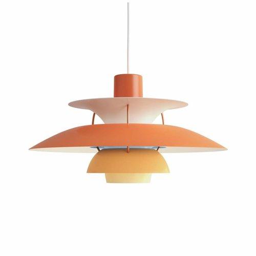 Louis Poulsen PH 5 hanglamp. Oranje