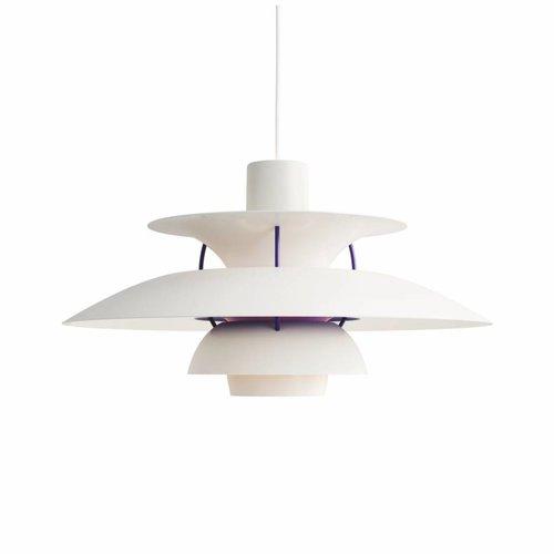 Louis Poulsen PH 5 hanglamp. Classic wit