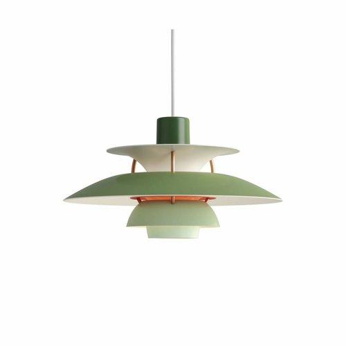 Louis Poulsen PH 5 Mini hanglamp groen