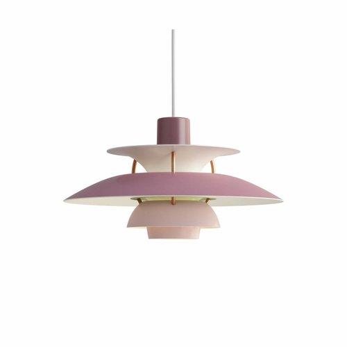 Louis Poulsen PH 5 Mini hanglamp roze