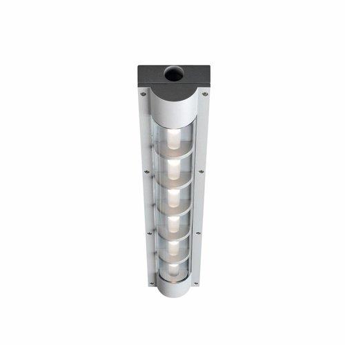 Louis Poulsen AL 600 wand/plafondlamp