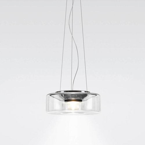 Serien Curling hanglamp  transparant