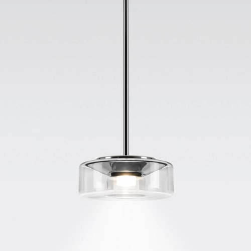Serien Curling hanglamp tube transparant