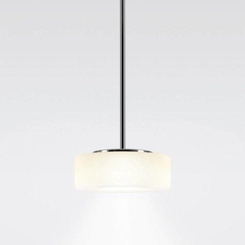 Serien Curling hanglamp tube opaal