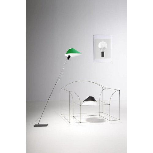 Ingo Maurer Glatzkopf vloerlamp
