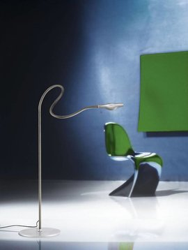 Ingo Maurer Metall F. Cooper vloerlamp