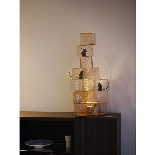 Ingo Maurer Seven Rats tafellamp