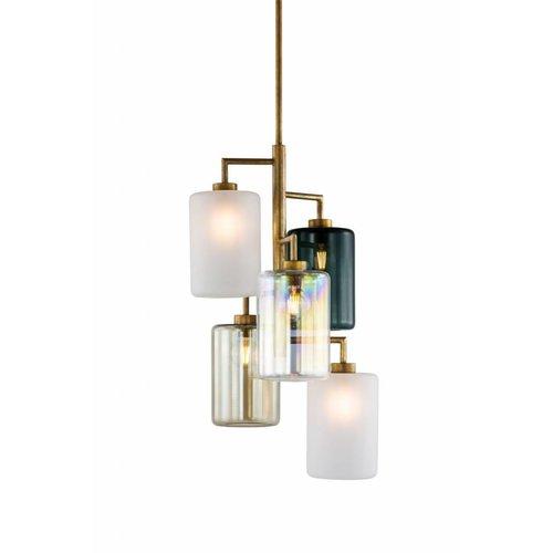 Brand van Egmond Louise vijfvoudige hanglamp
