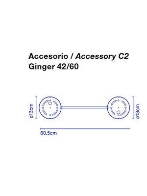 Marset Ginger C 2  42/60 accessoire