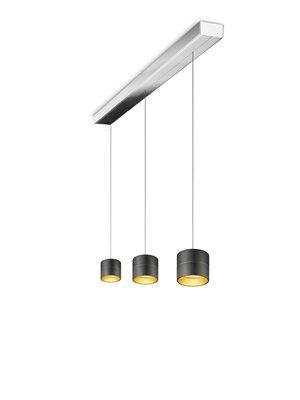 Oligo Tudor 3 Led  hanglamp met hoogte verstelling