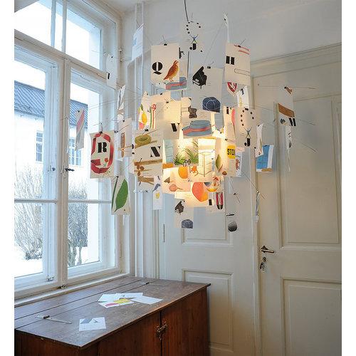 Ingo Maurer Zettel 'z Munari hanglamp