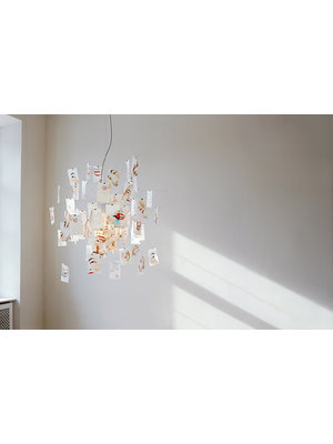 Ingo Maurer Zettel'z Laughing Buddha hanglamp