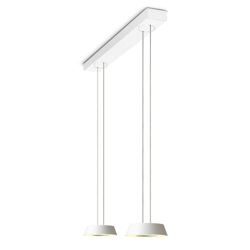 Oligo Glance hanglamp 2 voudig met  hoogte verstelling